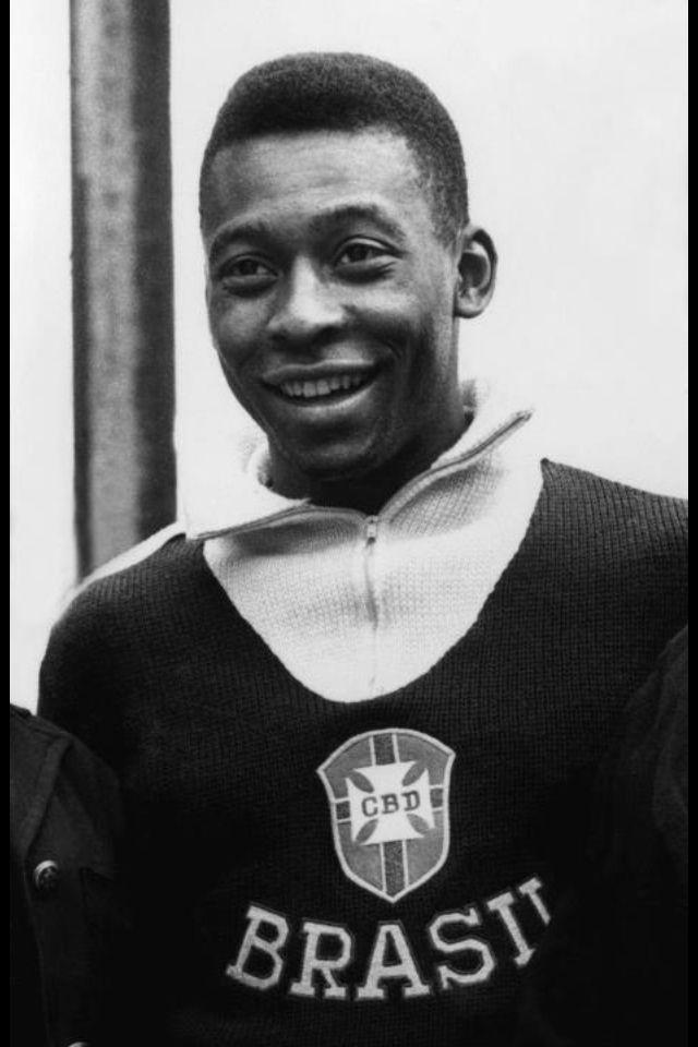 Pelé. O Rei. My Hero.