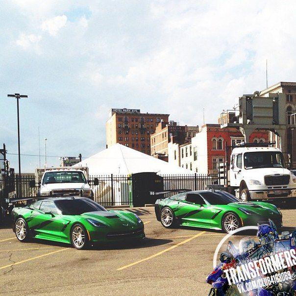 C7 Corvette In Transformers 4 Movie