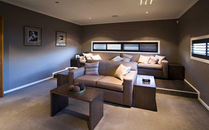 Jasper Home Theatre Room, New Home Designs   Metricon