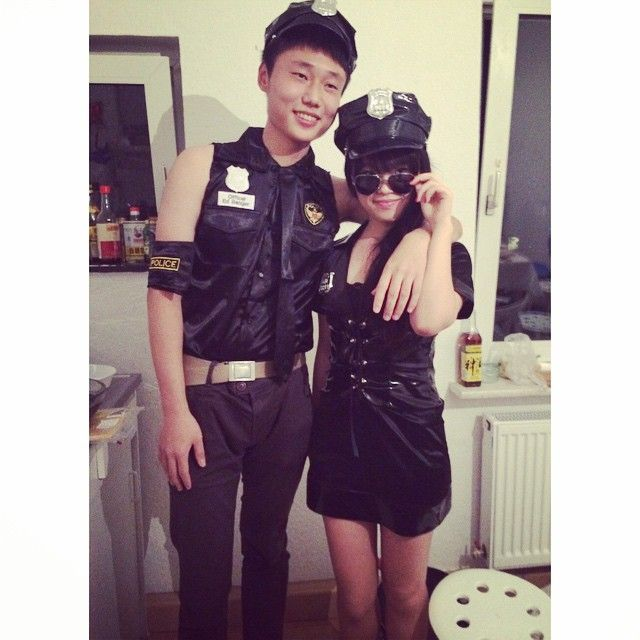 pin for later 60 sexy halloween couples costume ideas policeman and woman handcuffs optional