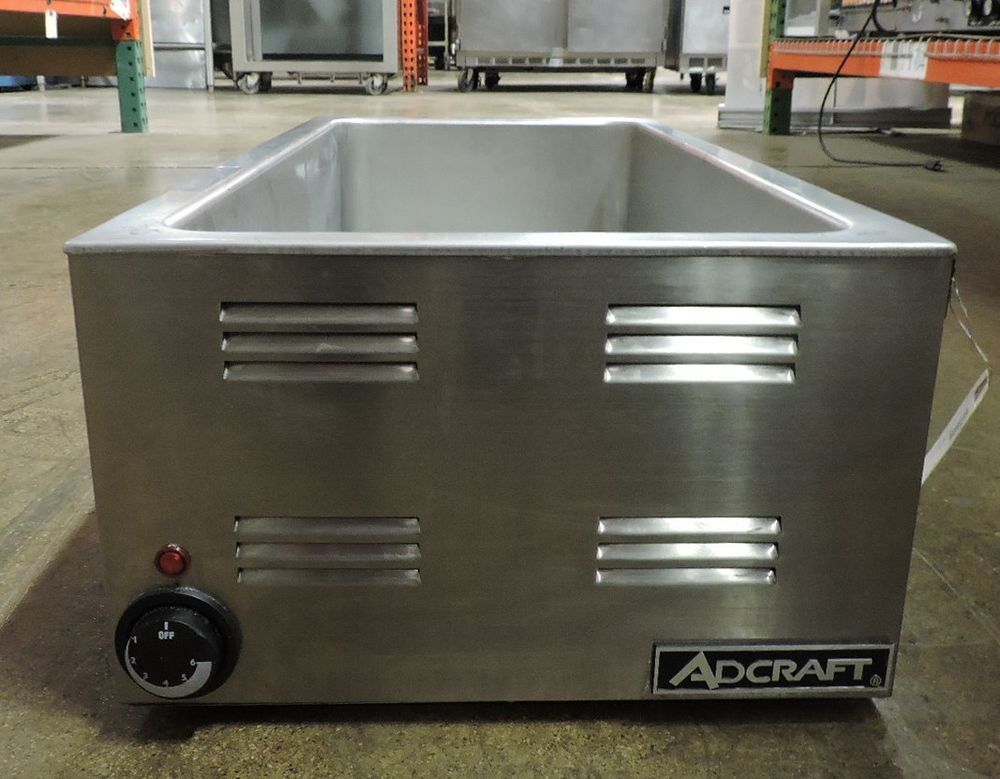 Adcraft fw1500w commercial 43 size countertop warmer