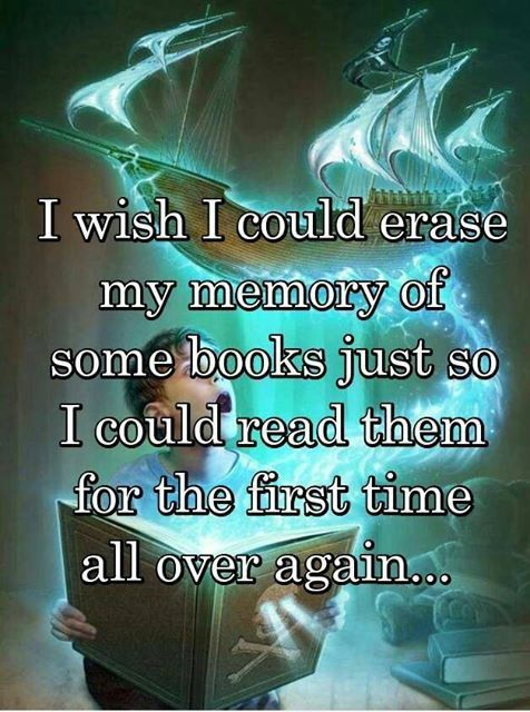 Would you want to erase your memories of favorite books?