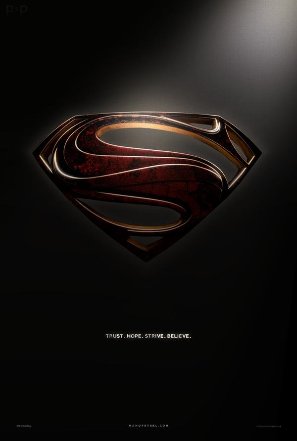 Man Of Steel Alternate Shield Fan Poster Man Of Steel Superman Wallpaper Logo Man Of Steel Wallpaper