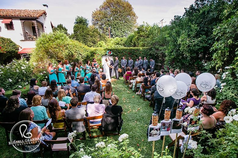 Acacia Mansion Wedding Ojai California Stacey Arnold Russell Gearhart Photography