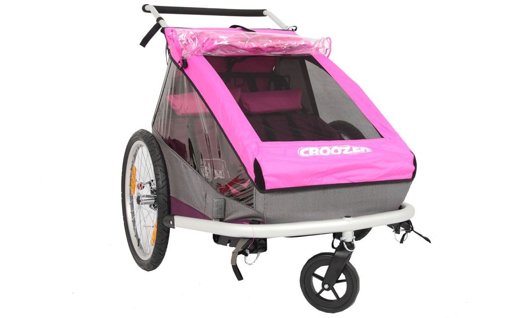 Croozer Kinderanhanger Kid For 2 Pink Limited Edition Gunstig
