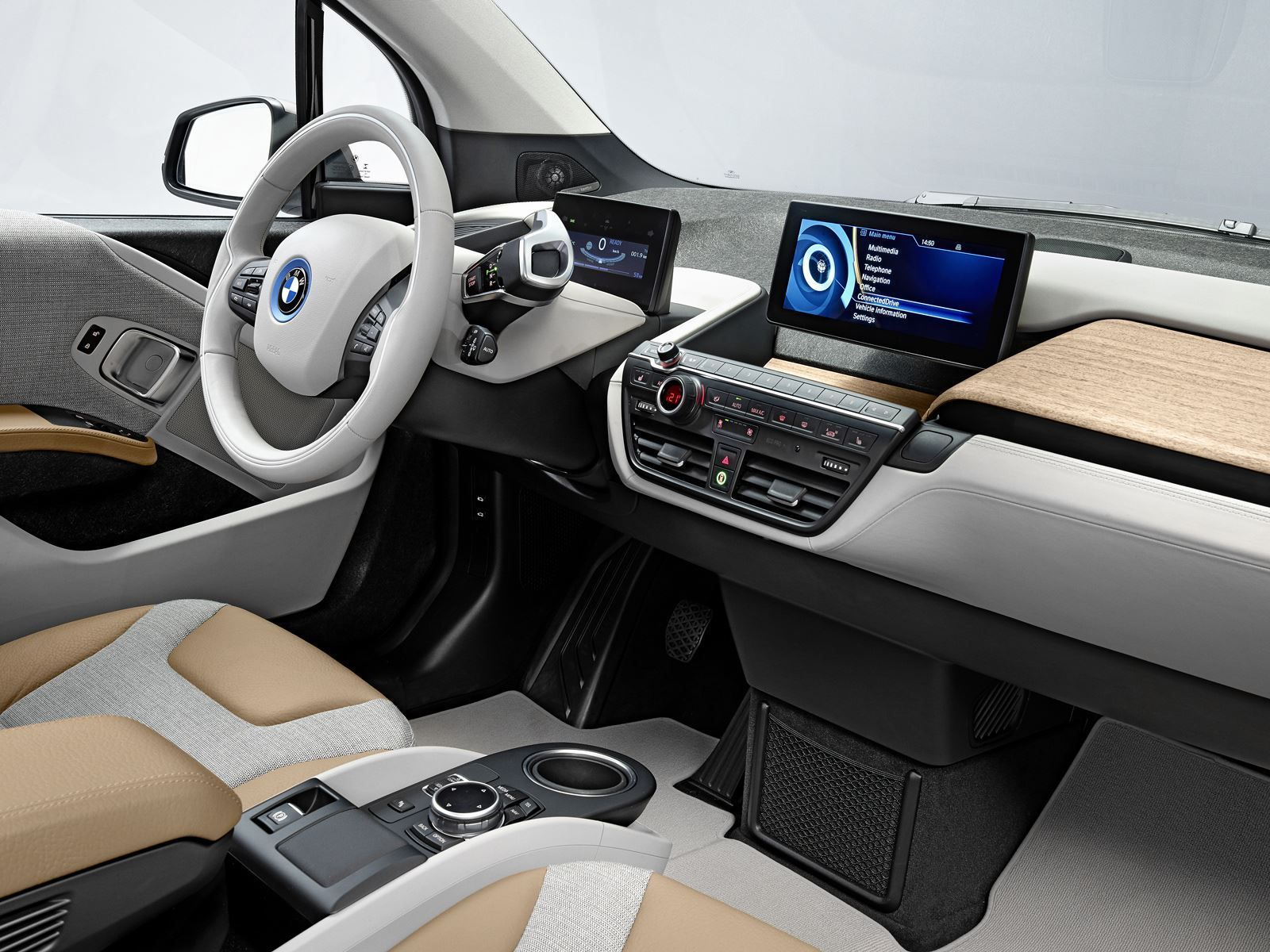 Possibility Of Bmw Working With Apple In Its In Car Operating System For Bmw I3 Bmw I3 Bmw I3 Interior Bmw I3 Electric