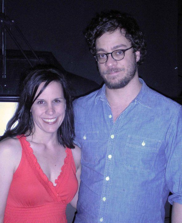 my beautiful wife and her favorite singer, Amos Lee. There