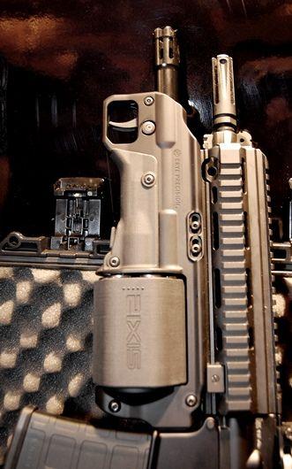 how to carry breaching shotgun