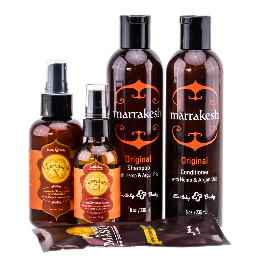 Earthly Body Marrakesh Travel Kit 5 Pieces Travel Kits Marrakesh Travel Body