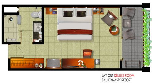 One of the biggest hurdles to get over when redesigning any space is how to  lay  Motel RoomHotel Room Design5 ...