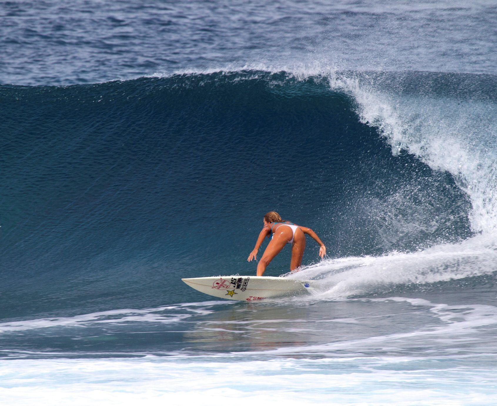 Bottom Turn Surfing