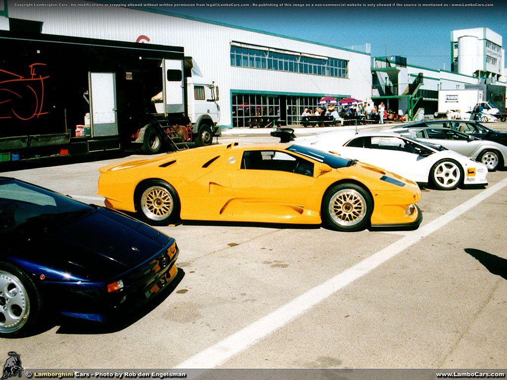 Lamborghini diablo gt1
