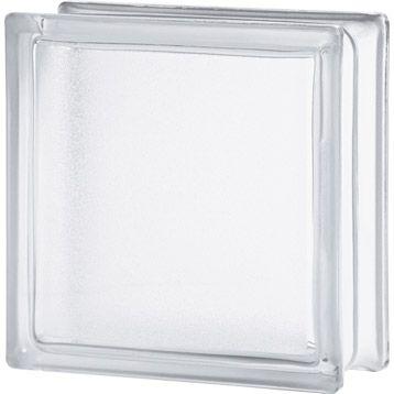 Brique De Verre Standard Lisse Double Face Transparente