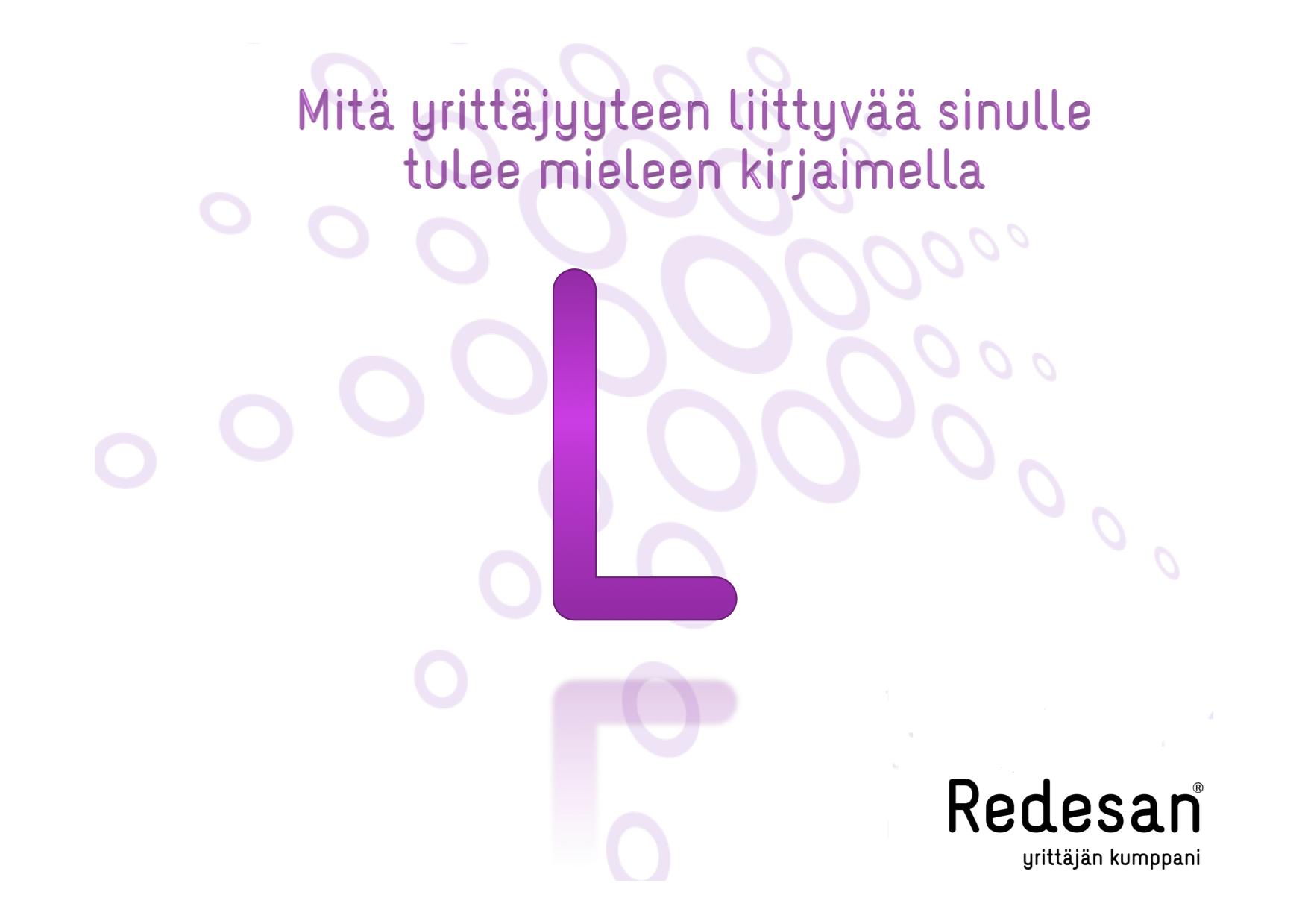 L- niinkuin Lauantai ja Luovuus