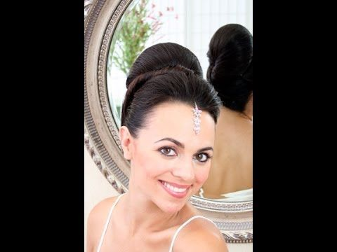 Wedding hair video - Southeast asian smooth updo