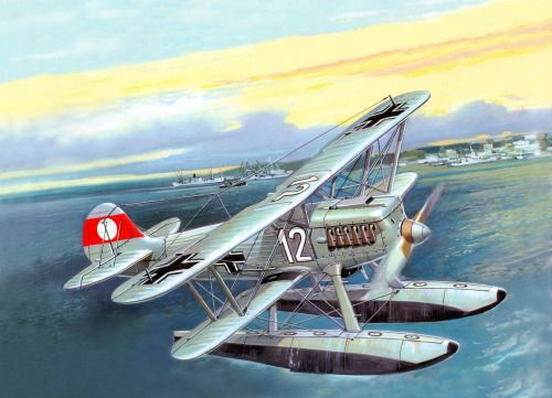 Heinkel He-51B