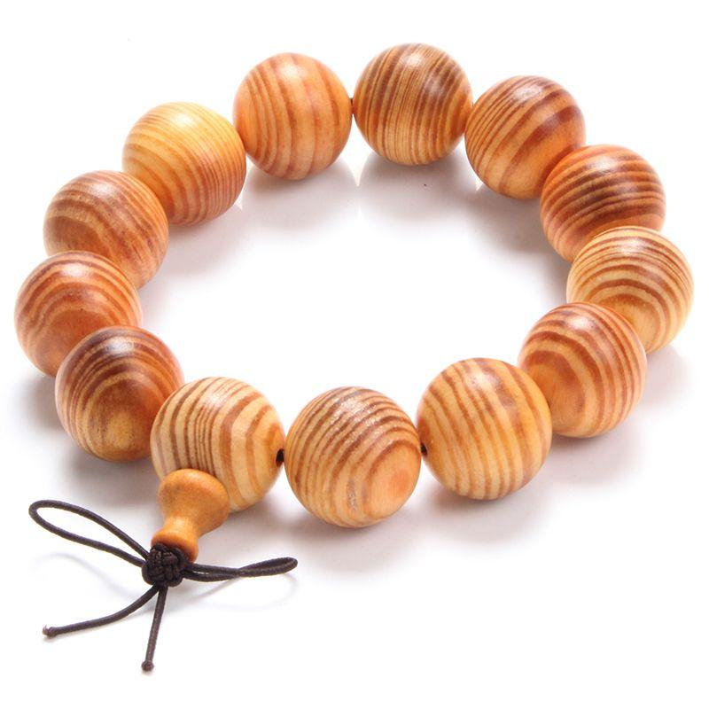 Indonesia Blood Dragon Wood Natural Pattern Prayer Beads Bracelet Buddhist Buddha Bracelet Bangle Men Jewelry