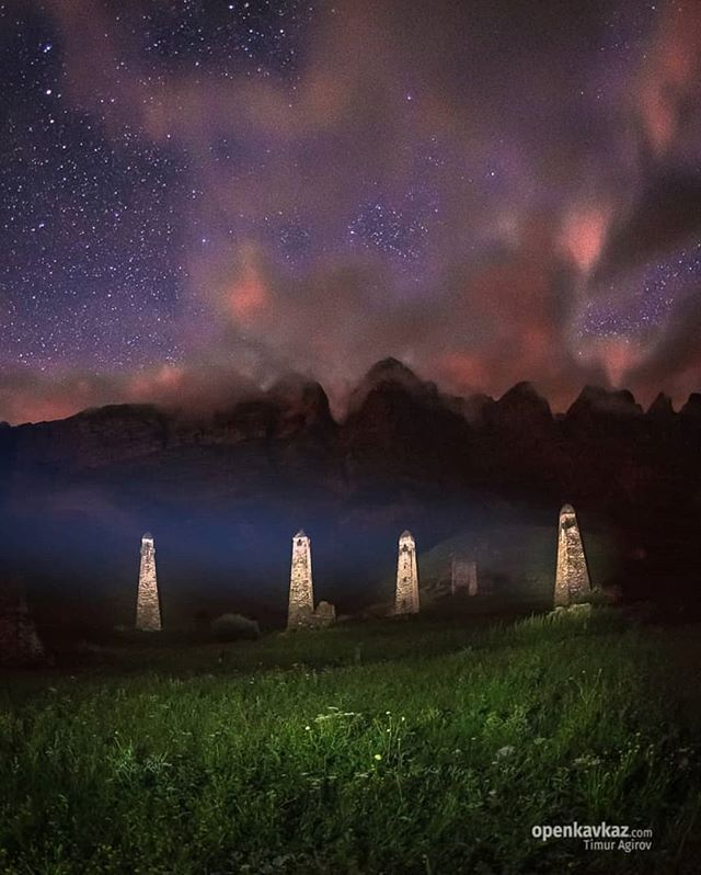 People shared On Social media: Ночь у башен Ний фото ...