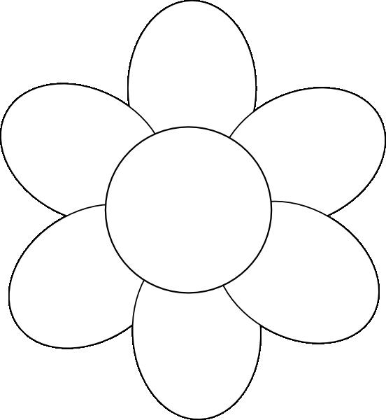 flower template free printable Google Search – Flower Petal Template