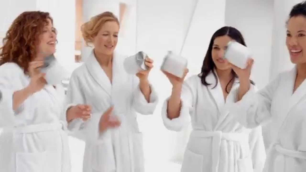 Dove body wash tv commercial 30 sec glittering
