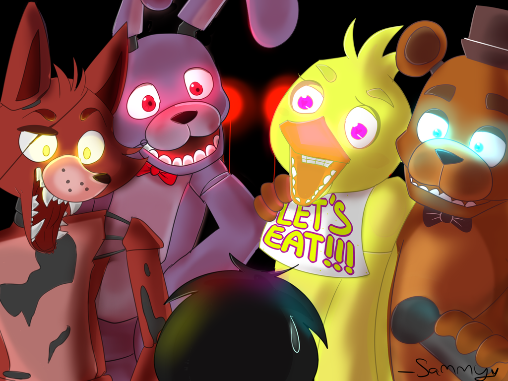 Five Nights At Freddy's Booty By Wolfsam.deviantart.com On