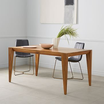 Attirant Designed To Suit Any Style, Our Anderson Dining Tableu0027s Exaggerated,  Angular Legs Add A Modern Edge To Its Clean Lined Form. We Love How The  Rich Grain Of ...