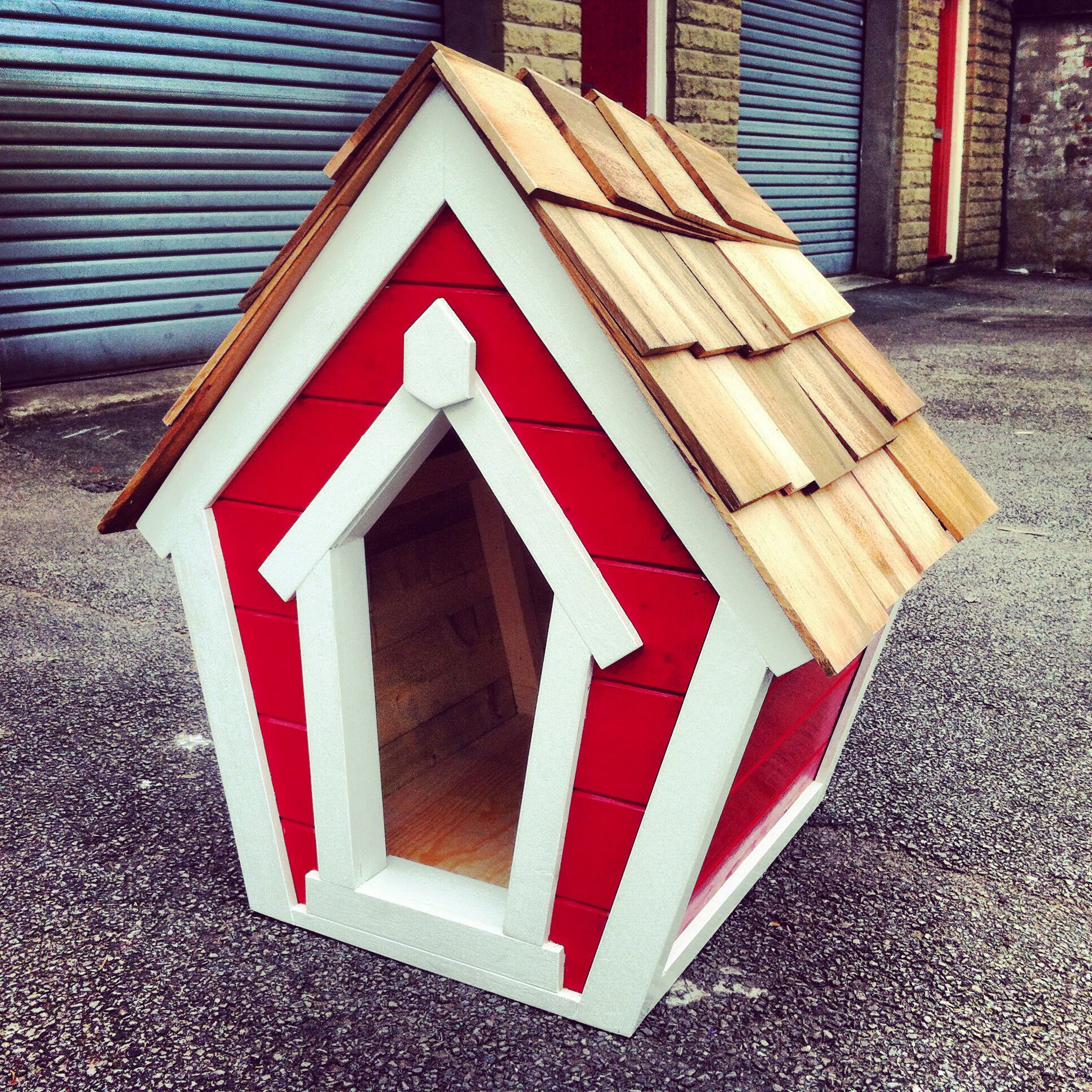My Designer Wonky Dog Kennel With Images Backyard Creations
