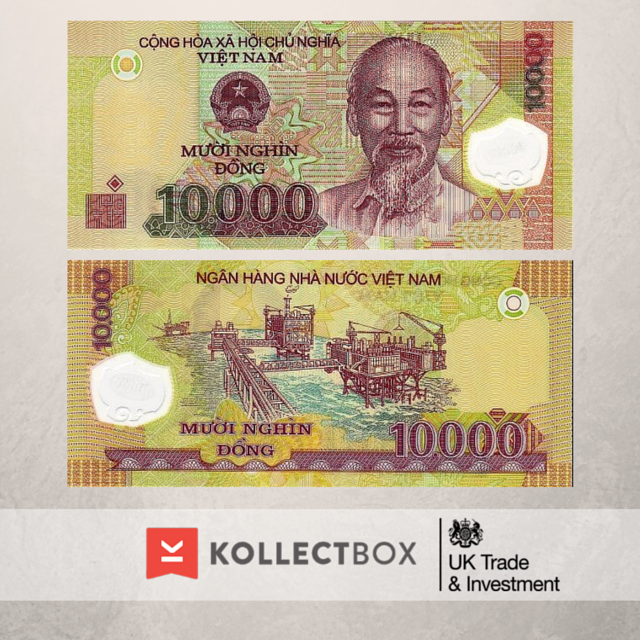 10000 ‪#‎dong‬ ‪#‎Vietnam‬ Find out more on www.kollectbox.com ‪#‎kollectbox‬ ‪#‎numismatics‬ ‪#‎banknotes‬ ‪#‎sellbanknotes‬ ‪#‎buybanknotes‬ ‪#‎papermoney‬ ‪#‎collections‬ ‪#‎numismática‬ ‪#‎notas‬ ‪#‎notafilia‬