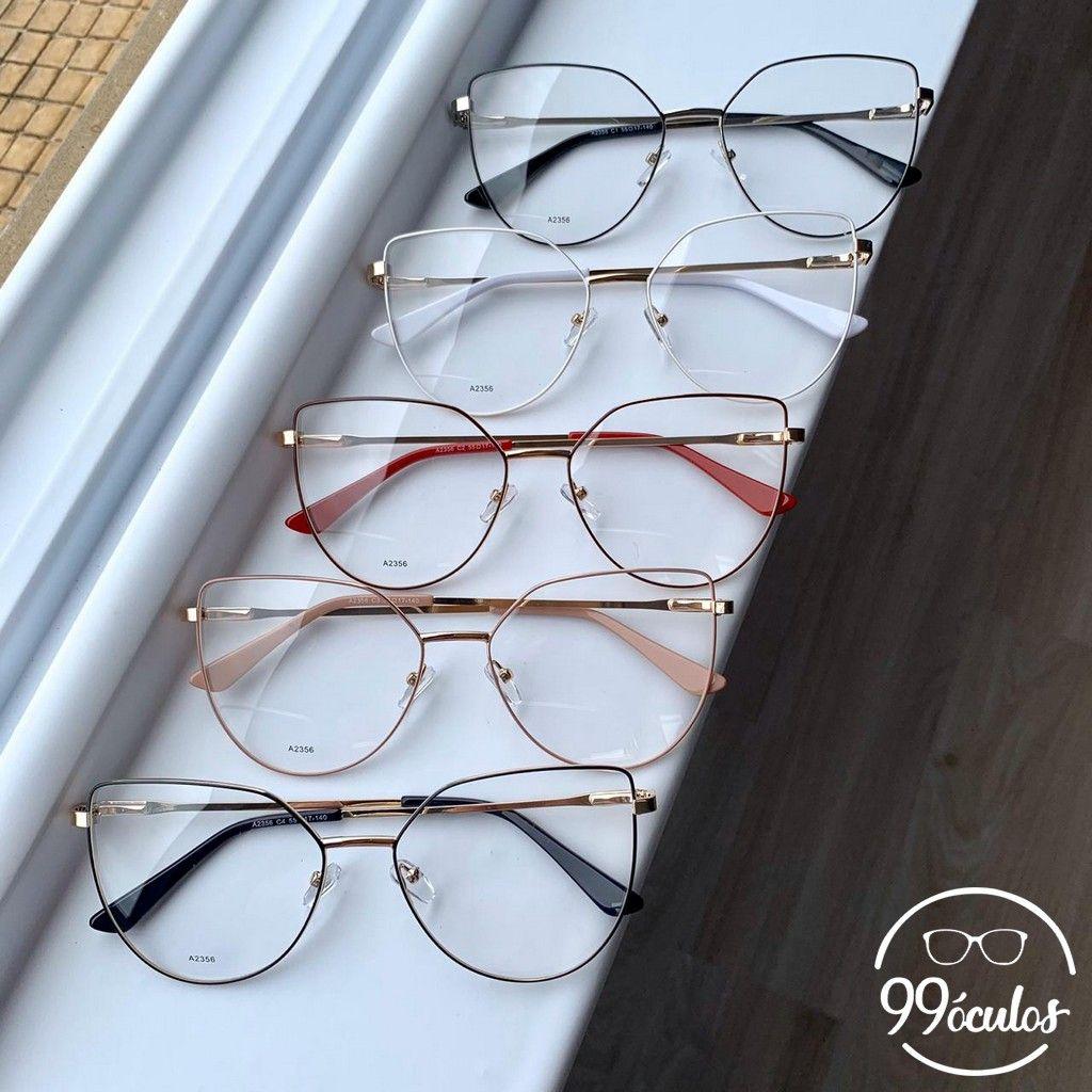 Armacao Para Grau Gatinho Akira 99 Oculos Em 2020 Armacao De