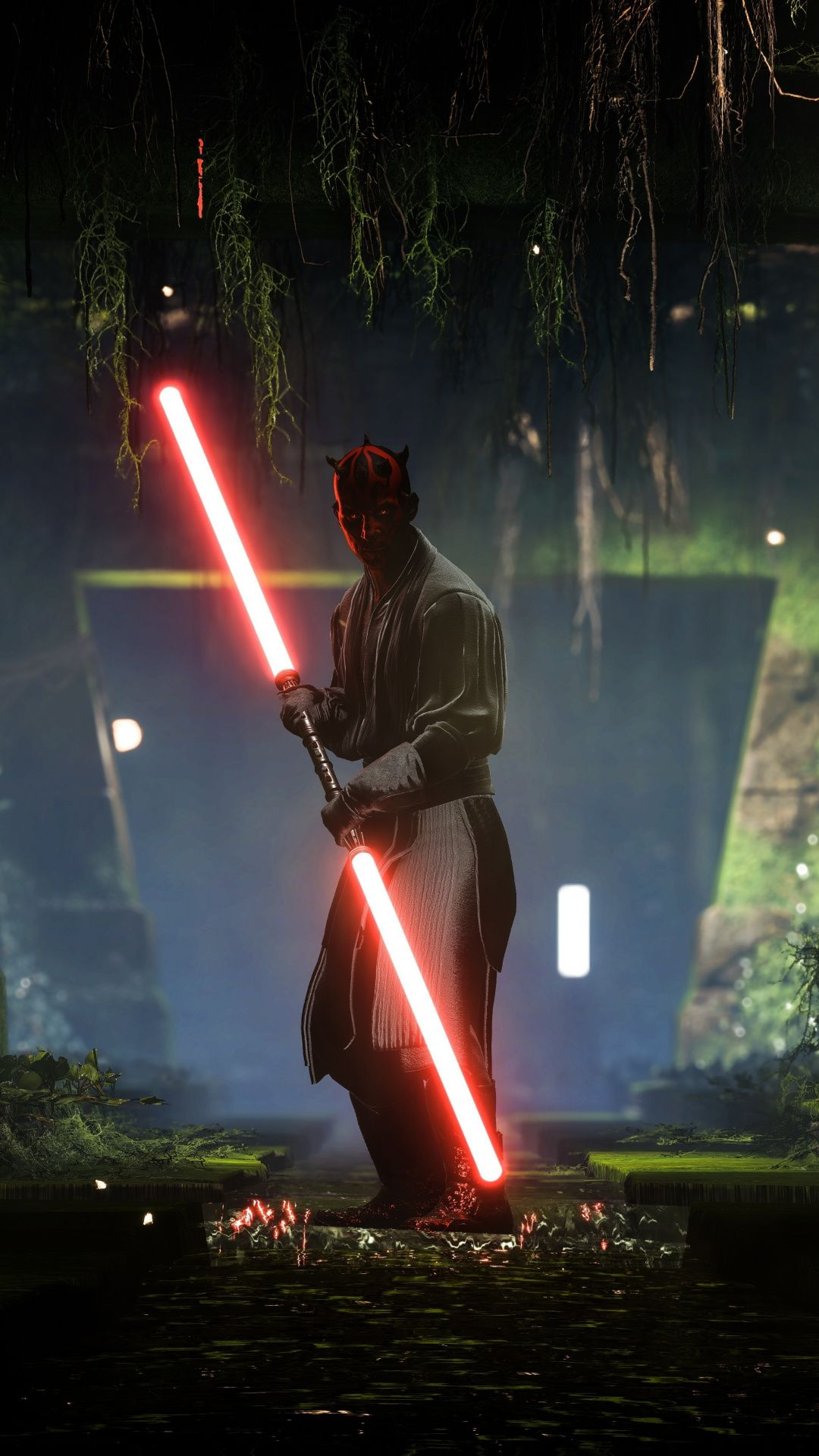 Darth Maul Star Wars Battlefront Ii Video Game 1080x1920