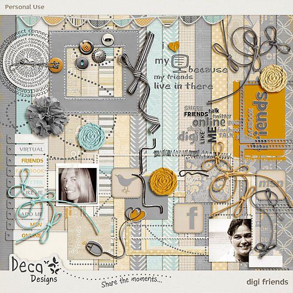 digi friends by Deca Designs