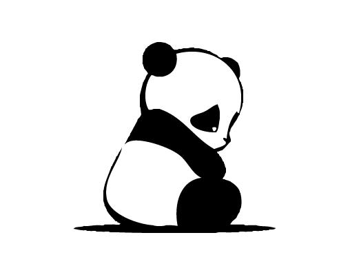 Dibujos Tristes Para Imprimir Imagenes Y Dibujos Para Imprimir Panda Drawing Panda Art Panda Tattoo