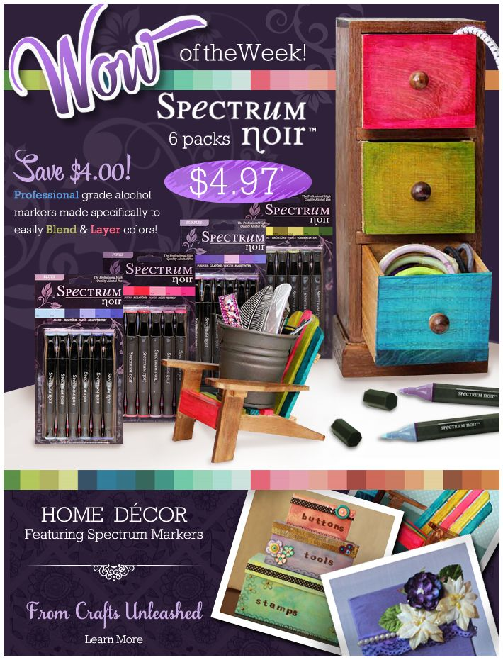 Big Wow Spectrum Marker Packs 50 Off Msrp Consumercrafts