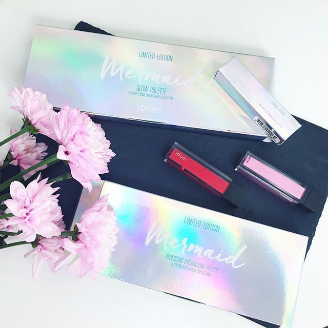 Pretty @jouercosmetics limited edition metallic mermaid packaging 💙🐬 #jouermermaid #jouermermaidcollection #jouerlipcreme @liketoknow.it http://liketk.it/2oyvq #liketkit