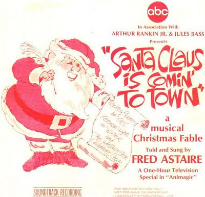 christmas specials vintage holiday rankin bass rankinbass santa claus is comin to town on abc - Christmas Shows On Tv Tonight