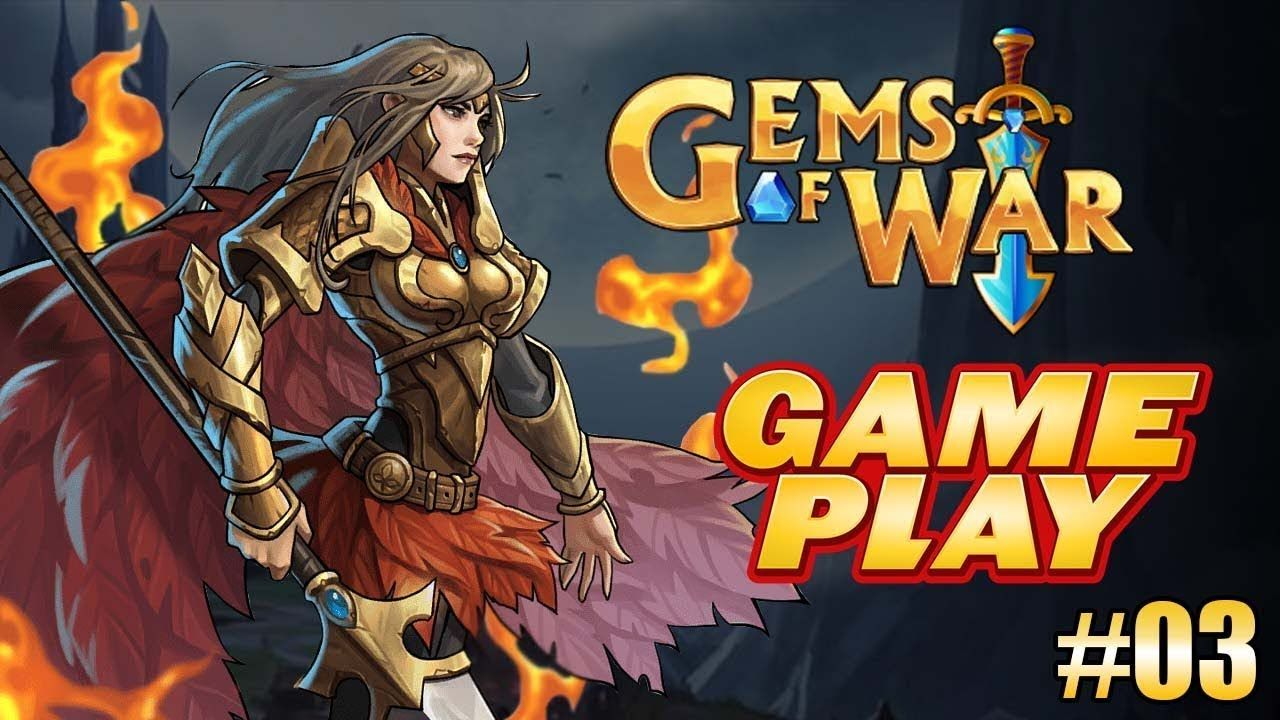 Gems of War Match 3 RPG GAMEPLAY 03 Android Games