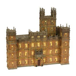 Department 56- Downton Abbey Lighted Building