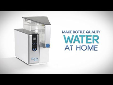 Aquatru Countertop Water Filter The First And Only Countertop