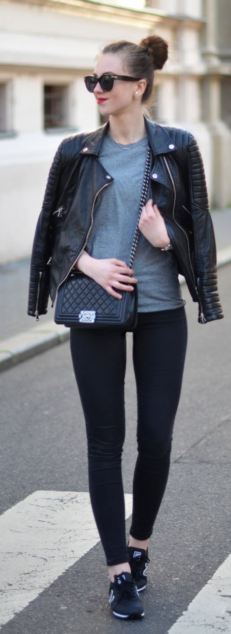 Dark Neutrals Outfit Idea by Vogue Haus