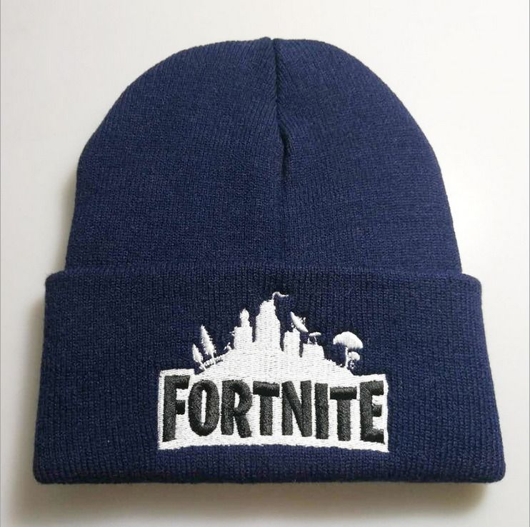 f74aafa60303f Fortnite Game Winter Beanie Hat Battle Royale Knitting Outdoor Hiphop Dance  Hats  fortnite  UK  game