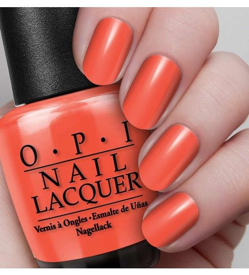 A Good Man-darin Is Hard To Find - Oranges & Yellows - Shades - Nail Lacquer | OPI UK £12.50