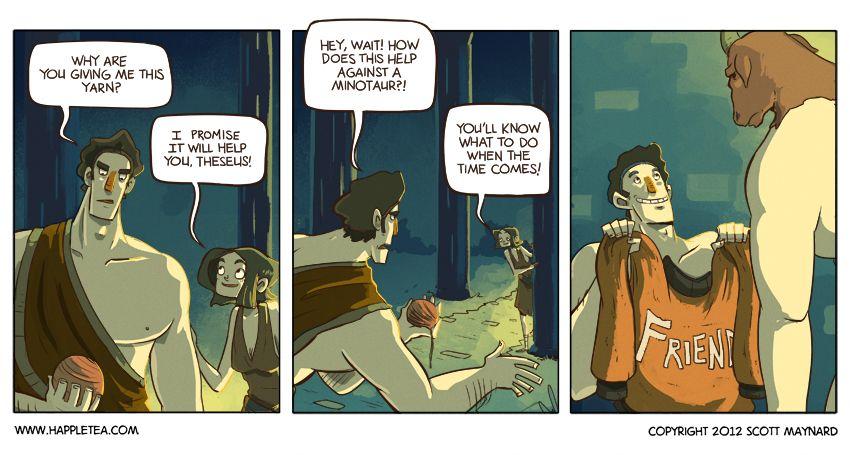 Theseus Faces The Minotaur Mythology Greece Mythology