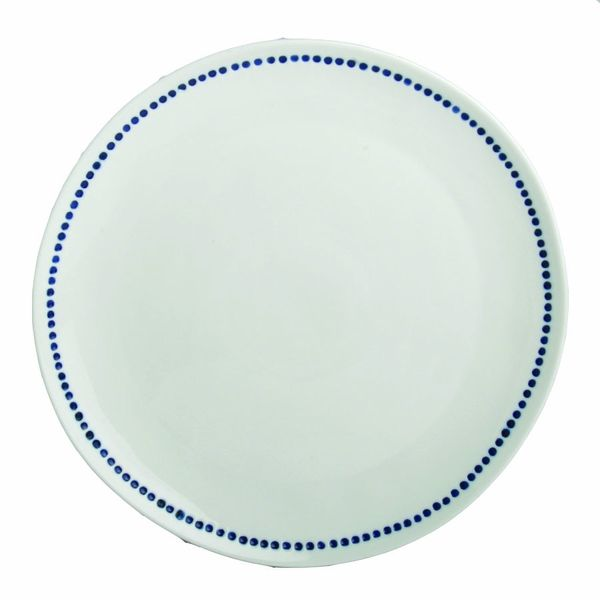 Dana Blue Dot Dinner Plates - Set of 4 by tag - free shipping |  sc 1 st  Pinterest & Dana Blue Dot Dinner Plates - Set of 4 by tag - free shipping | The ...