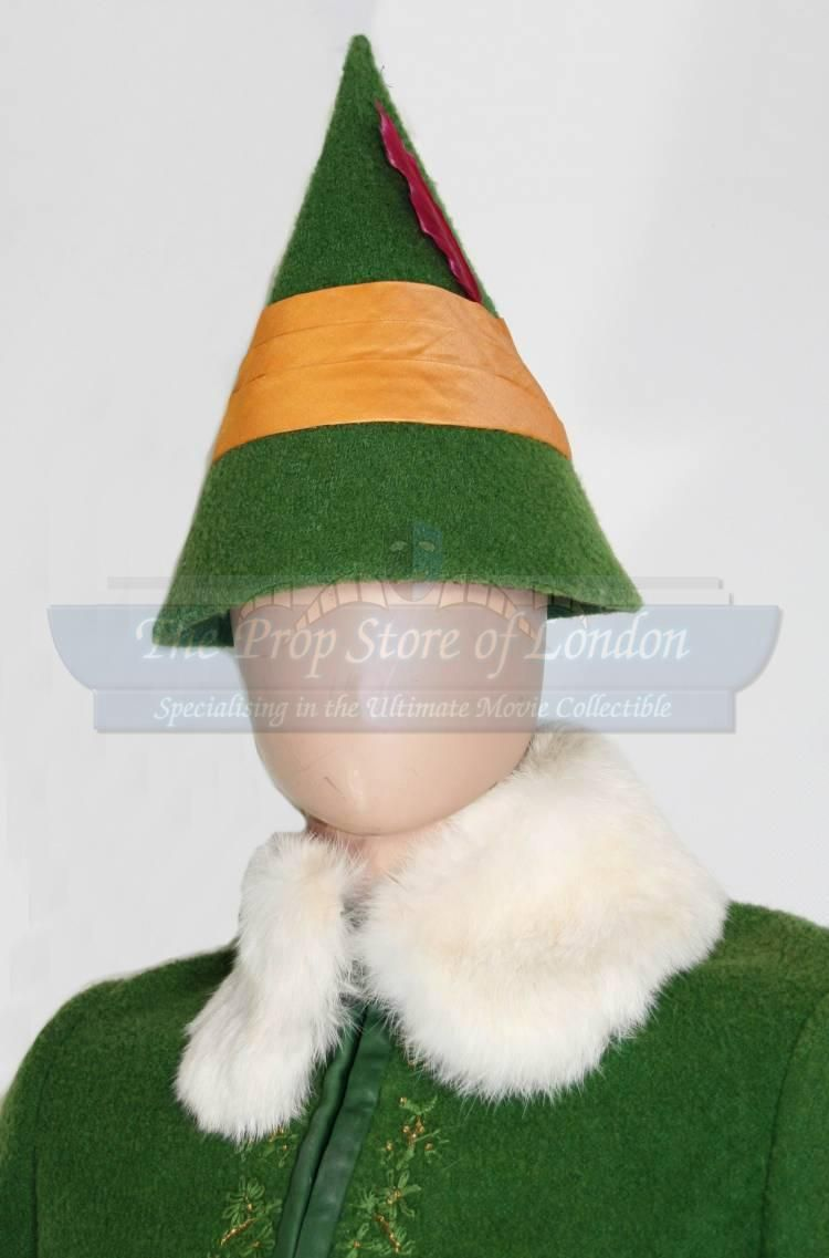 Buddy The Elf Will Ferrell Costume Prop Store Ultimate Movie Collectables Buddy The Elf Costume Buddy The Elf Christmas Elf Costume