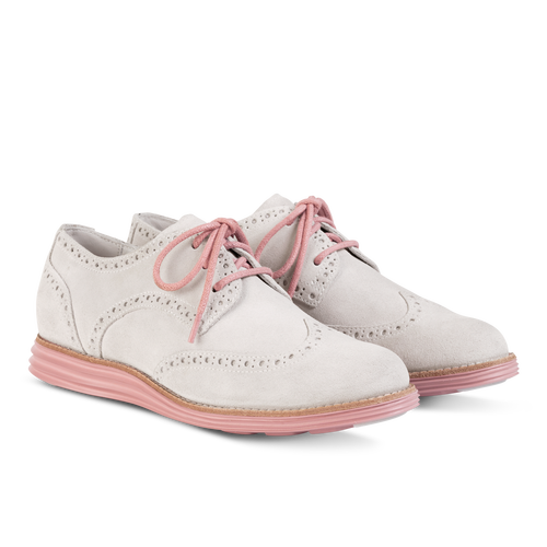 ebf26e74700 Cole Haan Women's LunarGrand Wingtip | Blush & Fern | Shoes, Oxford ...