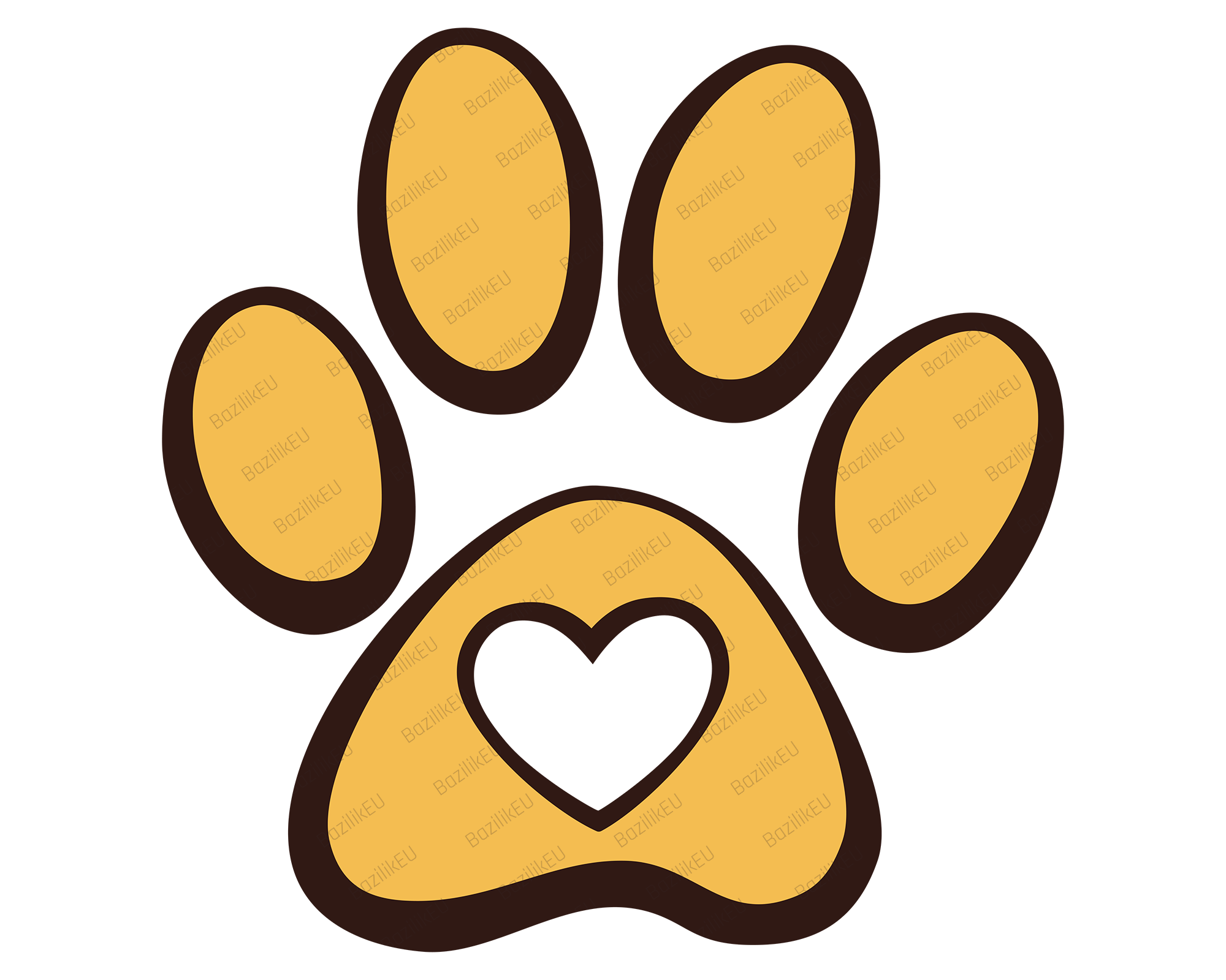 Yellow Paw Print Png – Try to search more transparent images related to paw print png |.