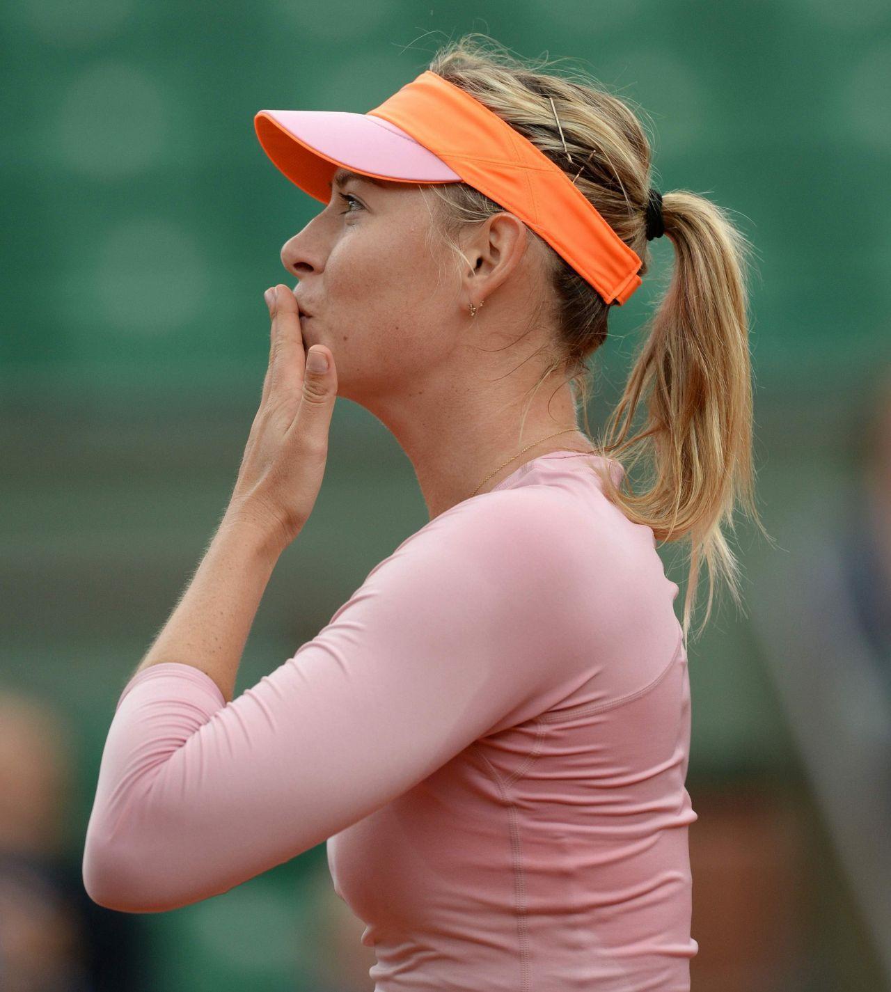 Maria Sharapova Größe