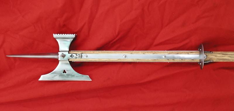 Knightly Pole Axe The One Of Most Favored Weapons Its Day Saw Service With Knights All Countries In List And On Battlefield