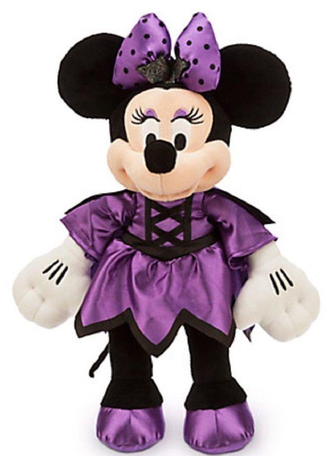 cerca il meglio vasta selezione acquistare Disney Store Minnie Mouse Vampire Halloween Plush New 2015 ...