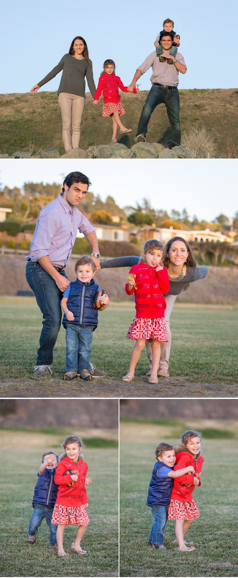 a fun family photo | Family Portrait Session | Marin, CA (Cole and Kiera Photography)